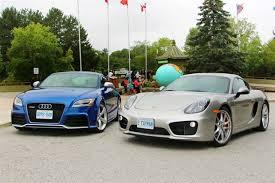 porsche cayman comparison comparison test audi tt rs vs porsche cayman s autos ca