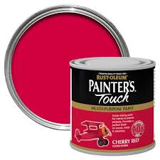 rust oleum painter u0027s touch interior u0026 exterior cherry red gloss