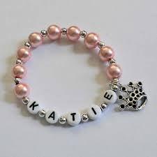 jewelry party favors princess party favor name bracelet personalized name bracelet with
