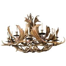 Antler Chandelier Home Depot Lamp Cool Elk Antler Chandelier For Rustic Home Lighting Ideas