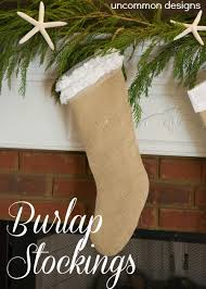 christmas hers his and hers burlap uncommon designs
