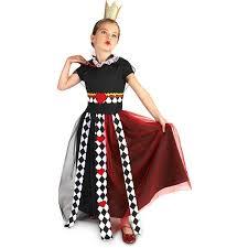 evil queen halloween evil queen of hearts child halloween costume walmart com