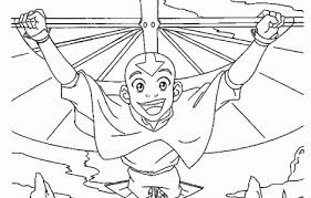 avatar airbender coloring pages download free printable