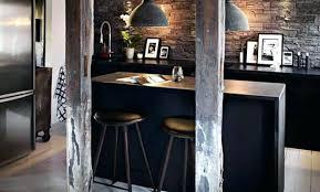 cuisine style chalet deco style chalet moderne salon dacco style chalet en bois