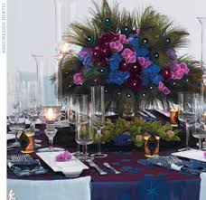 Feather And Flower Centerpieces by Feather Wedding Flower Centerpieces The Wedding Specialiststhe