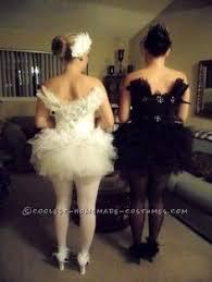 White Swan Halloween Costume Coolest Black White Swan Couple Costume White Swan Swans