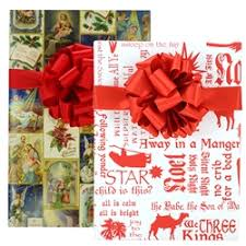 christian wrapping paper help keep in christmas with christian gift wrap