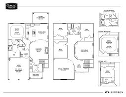 the wellington floor plans goodall homes