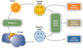3 1 moods and emotions in our social lives principles of social the current weather influences people s judgments of their well being but only when they are