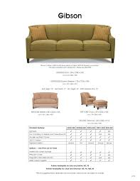 Rowe Upholstery Gibson Sleeper Sofa K599 By Rowe Furniture