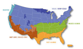 World Climate Map by Building America Climate Zone Map Building America Solution Center