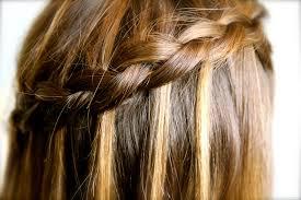cute girl hairstyles diy how to create a diy dutch waterfall braid cute braided hairstyles