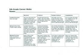 writing paper 2nd grade project gallery linton elementary school career web grading rubric