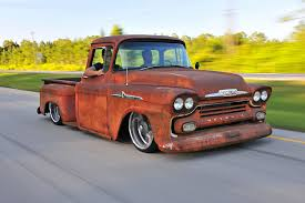 rusty car photography this 1958 chevy apache is rusty on the outside and ultramodern
