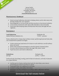Trainer Resume Example Cosmetology Instructor Resume Sample Livecareer