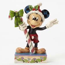 mickey mouse figurine with by jim shore
