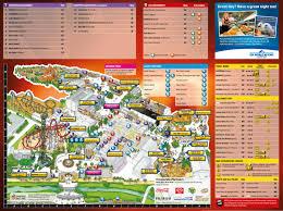 Sea World Map Gold Coast Tourist Map Inc Attractions Hotels Landmarks