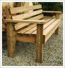 Bench Outdoor Furniture Best 25 Wooden Garden Benches Ideas On Pinterest Wooden Garden