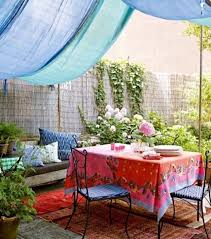 Ideas For Backyard Patios 37 Beautiful Bohemian Patio Designs Digsdigs