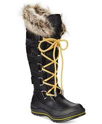 guess boots womens guess s hadly lace up cold weather boots boots shoes