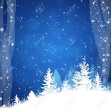 winter delightful snowy blue background for christmas and new