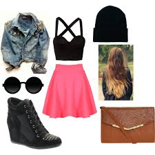 hipster summer polyvore by brooke buhler on we heart it