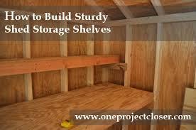 How To Make A Small Bookshelf How To Build Sturdy Shelves Diy Ideas Pinterest Shelves