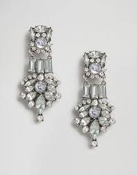 grunge earrings new look new look grunge chandelier earrings