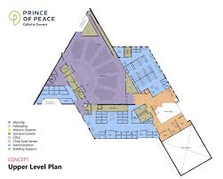 Church Fellowship Hall Floor Plans Land U0026 Building Blog Prince Of Peace Lutheran Church