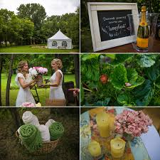 Country Backyards Edmonton Bohemian Country Backyard Wedding Amy Matt Katya