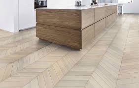 chevron patterned wood floors icon magazine