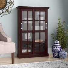 Cabinet With Sliding Doors Cabinet With Sliding Doors Wayfair
