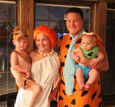 halloween costumes ideas for family of 3 the rollins ruckus meet the flintstones