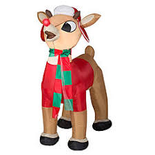 christmas inflatables outdoor outdoor decor airblown inflatables sears