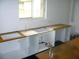 meuble cuisine a poser sur plan de travail pose plan de travail cuisine poser newsindo co