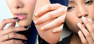 nail art ideas 21 updated french manicure designs thefashionspot