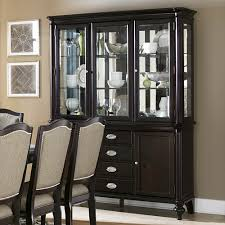 dining room buffet and hutch homelegance marston 10 piece double pedestal dining room set in