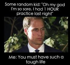 Band Practice Meme - yeah a friend of mine was complaining about having to walk on her