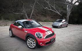 2012 fiat 500 abarth vs 2012 mini cooper s coupe comparison