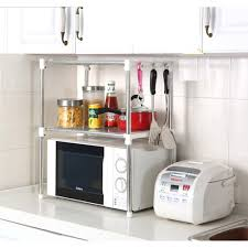 Microwave Stand G4rce New Multi Function Double Microwave Oven Stand Amazon Co Uk