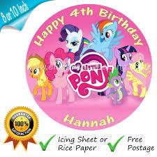 my pony cupcake toppers my pony cake ebay