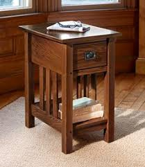 mission style end tables craftsman end table mission slat end table by homestead furniture
