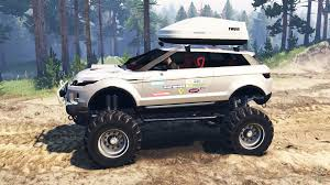 lifted bugatti rover evoque lrx lifted for spin tires