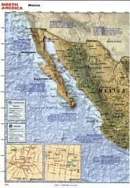 Maps Of Mexico by Tourist Map Of Mexicofree Maps Of Us