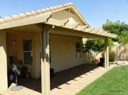 aluminum patio covers vs wood patio covers royal covers of arizona
