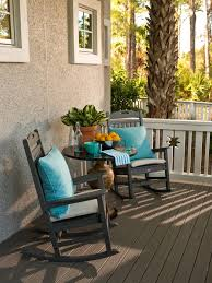 Patio Rocking Chairs Composite Patio Rocking Chairs And Blue Outdoor Throw Pillows Feat