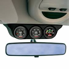 dodge ram overhead console 63367 overhead console pod 3 gauges for use with 2003 2007 dodge