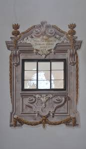 painted architectural window re create this with deco haven