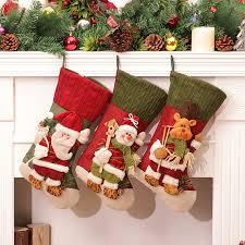 aliexpress com buy christmas sock craft clothes stocking new
