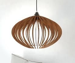 Wood Veneer Pendant Light Wonderful Wood Pendant Light Like This Item Diy Wood Veneer